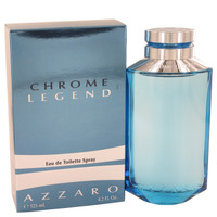 Azzaro Chrome Legend Cologne For Men by Loris Azzaro Edt 4.2 oz