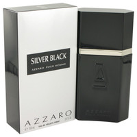 Azzaro Silver Black Cologne For Men by Loris Azzaro Edt 3.4 oz