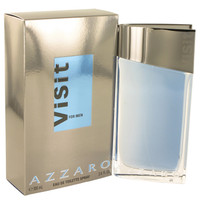 Azzaro Visit Men Fragrance by Loris Azzaro Edt 3.4 oz