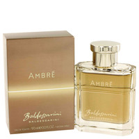 Baldessarini Ambre Mesns Cologne by Hugo Boss Edt 3 oz