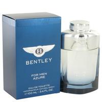 Bentley Azure Cologne by Bentley Edt 3.4 oz