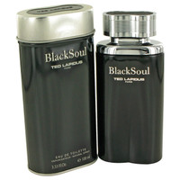 Black Soul Cologne by Ted Lapidus Edt 3.4 oz
