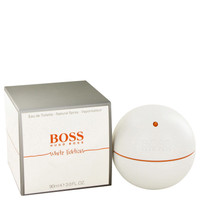 Boss In Motion White Cologne For Men by Hugo Boss Edt 3 oz