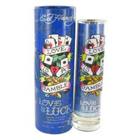 Ed Hardy Love & Luck Tester  cologne  Mens by Christian Audigier Edt Spray  3.4oz