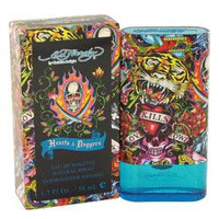 Ed Hardy Hearts and Daggers Men's Cologne by Christian Audigier Edt Spray 3.4 oz