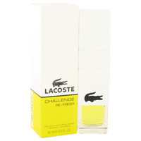 Lacoste Challege Refresh Cologne for Men 3.0oz Edt Spray