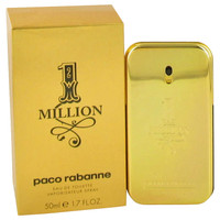 Paco Rabanne 1-Million Fragrance for Men Edt Spray 1.7oz