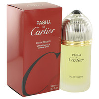 Pasha deCartier Men's Cologne Edt Spray 3.4oz