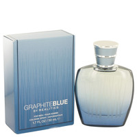 Realities Graphite Blue For Men Edt Spray 1.7oz