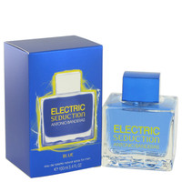 Seduction In Blue Electric Edt Spray 3.4oz