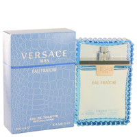 VERSACE FOR MEN 3.4oz EAU FRAICHE EDT SPRAY