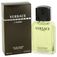 VERSACE L'HOMME FOR MEN 3.4oz EDT SPRAY