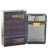 VERSACE MAN 3.4oz EDT SPRAY(PURPLE)