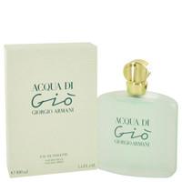 ACQUA DI GIO COLOGNE FOR WOMEN 3.4oz EDT SPRAY