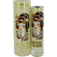 Ed Hardy Love & Luck Womens By Christian Audige Edp Sp 3.4 oz