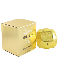 Lady Million Fragrance by Paco Rabanne For Women's Eau De Parfum Spray 2.7 oz