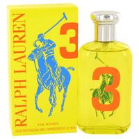 Big Pony Yellow 3 by Ralph Lauren For Women Edt Spray 3.4 oz
