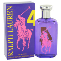 Big Pony 4 Purple Fragrance by Ralph Lauren For Women EDT Spray 3.4 oz