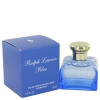 Ralph Lauren Blue Fragrance by Ralph Lauren For Women EDT Spray 2.5 oz