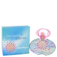 Incanto Charms Cologne by Salvatore Ferragamo for Women EDT Spray 3.4 oz