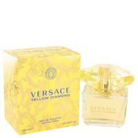 Versace Yellow Diamond for Women 3.0oz Edt Sp