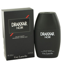 DRAKKAR NOIR by Guy Laroche EDT Men Spray 3.4oz