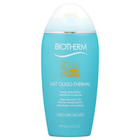 BIOTHERM SUN AFTER OLIGO THERMAL MILK LOTION 6.7 OZ INTENSE MOISTURIZATION REHYDRATES & SOOTHES BODY & FACE