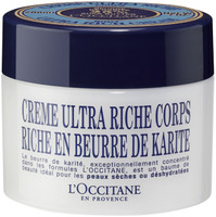 L'Occitane Shea Butter Ultra Rich Body Cream 7 oz Jar