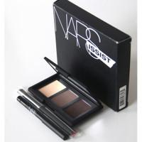 NARS NARSissist Smokey Eye Kit Color Palette 0.13 oz EyeShadow Cream+ Travel Brush + Mini Eyeliner
