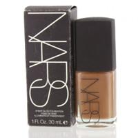 NARS Sheer Glow Foundation Tortuga 1 oz Bottle Dark With Brown Undertone