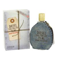 Diesel Fuel for Life Denim Edition Eau De Toilette Spray for Women 2.5 oz