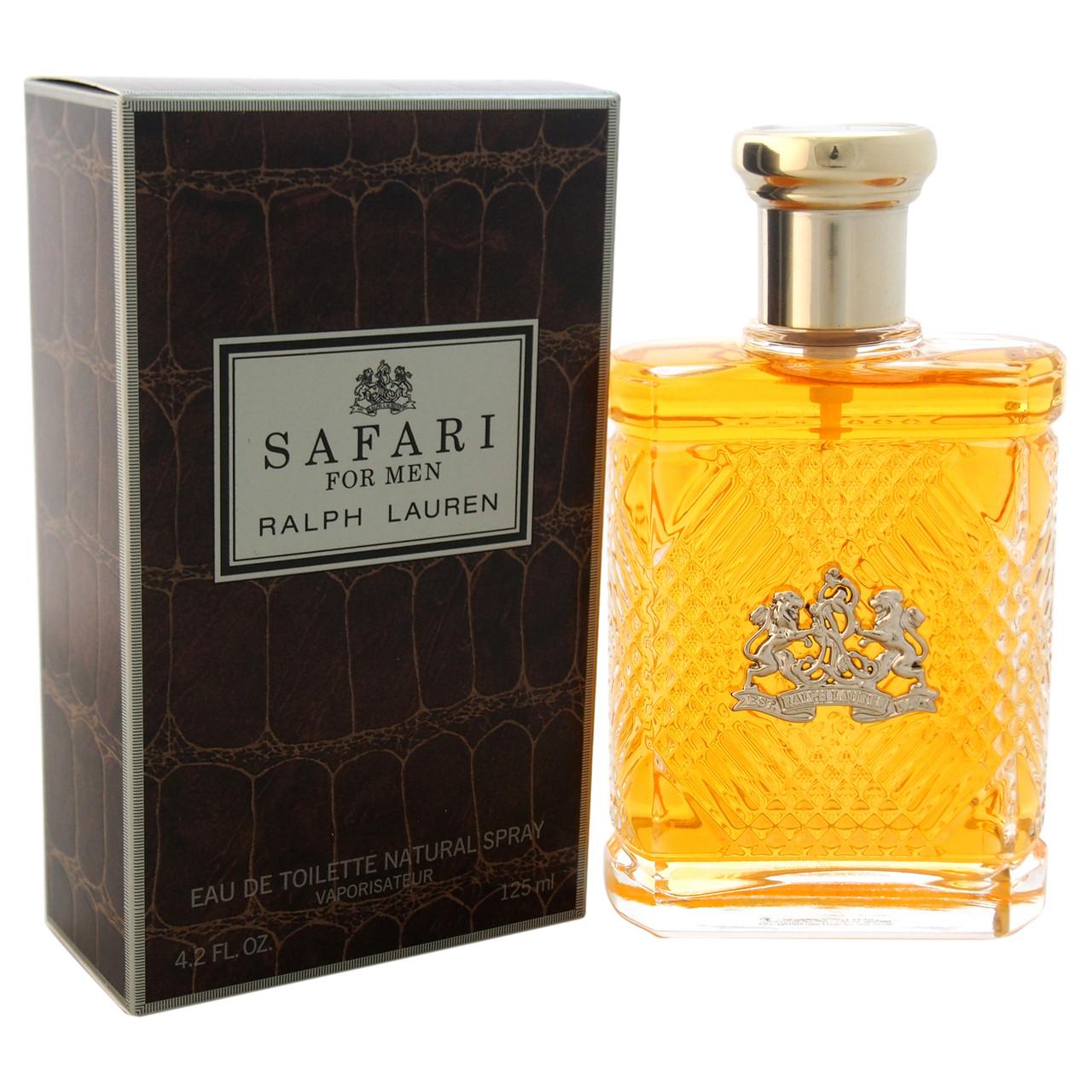 Ralph Lauren Safari Cologne for Men EDT Spray 4.2 oz