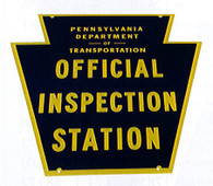 Safety Inspection Sign only