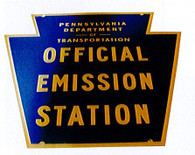 PA Emissions Sign Only