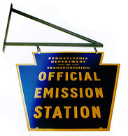 PA Emissions Inspection Sign Kit