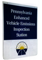 Pennsylvania Enhanced Vehicle Emissions Sign