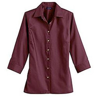 Women's Long Sleeve Button Down