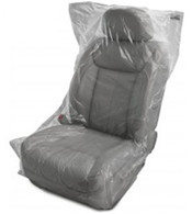 .5 Mil Thick Slip-N-Grip® Economy Plastic Disposable Seat Covers
