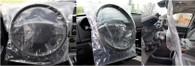 Slip-N-Grip® Slide-On Plastic Disposable Steering Wheel Covers (Roll of 500)