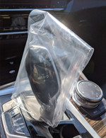 Plastic Disposable Gear Shift Covers (Case of 1000)