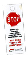 Brake Maintenance Hang Tags