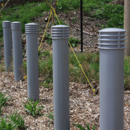 "Bollards and Sleeve's 6"" Cinco Decorative Bollard Covers"