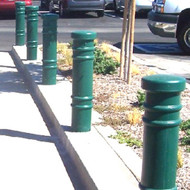 "Bollards and Sleeve's 6"" Metro Decorative Bollard Covers"