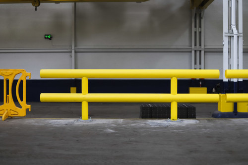 Two-Line Heavy Duty Industrial Guardrail