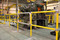 Steel Pipe & Plastic Handrail with custom  gate used for machinery protection
