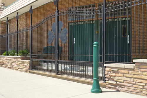 Bollards and Sleeve's Paramount Decorative Plastic Bollard Cover