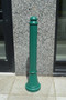 Bollards and Sleeve's Paramount Decorative Plastic Bollard Cover in Forest Green