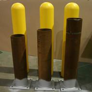 Steel Pipe Bollard and Bollard Cover Combo