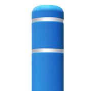 285 Blue Flat Top Bollard Cover