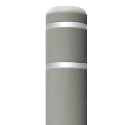 Onyx Gray Flat Top Bollard Covers